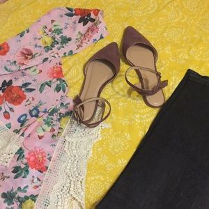 Amazing Charlotte Russe Flats Ankle Strap Sandals